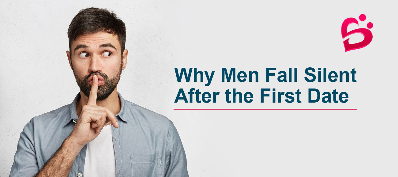 Why men fall silent after first date