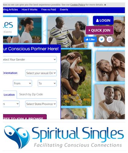 Spiritual Singles Site