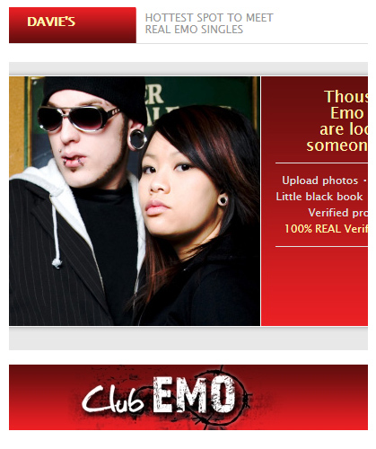 To emo where girls meet Emo Chat
